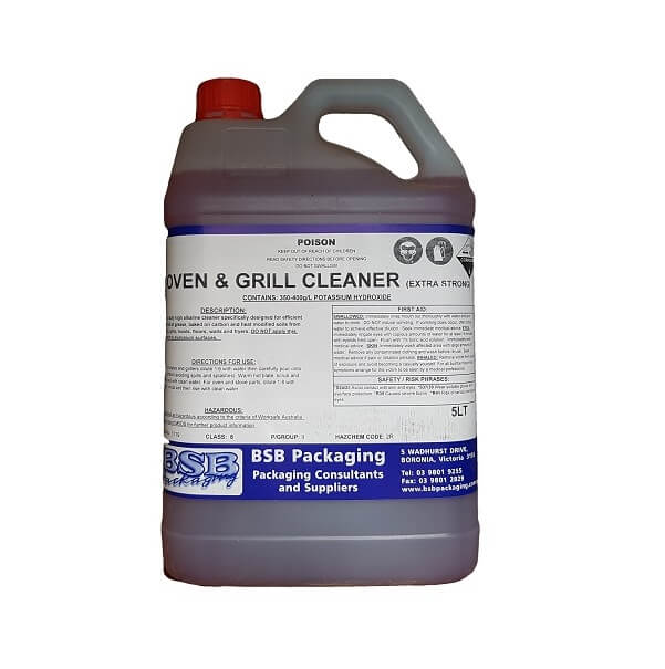 Grill and hot plate cleaner, extra strong | BSB Packaging