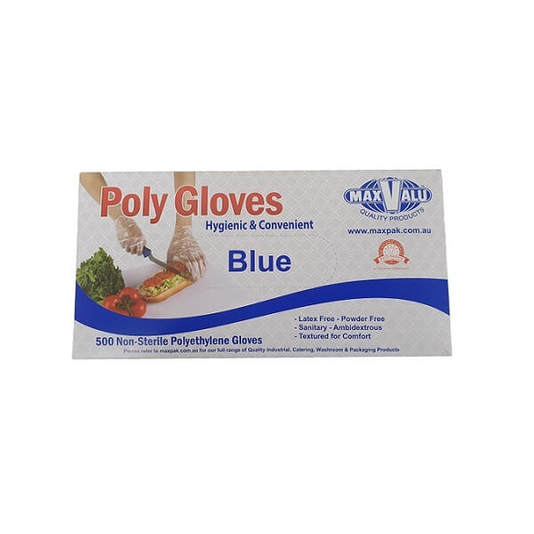 PE Blue Disposable Gloves