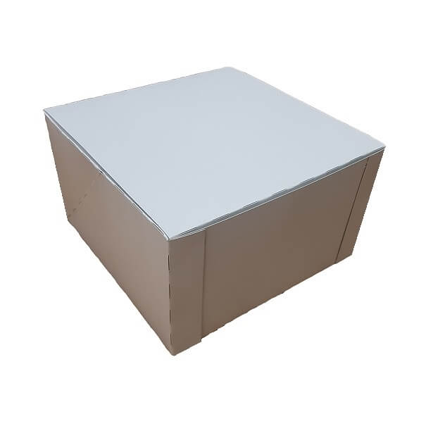 White Board Pop up Cake box