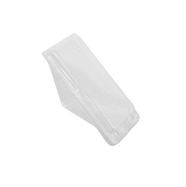 Gourmet 3 Point - Sandwich Wedge Clear Plastic