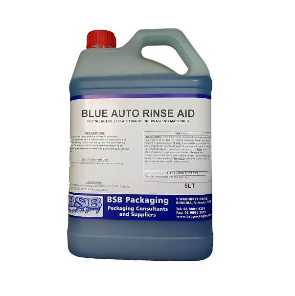 Rinse aid, auto blue | BSB Packaging