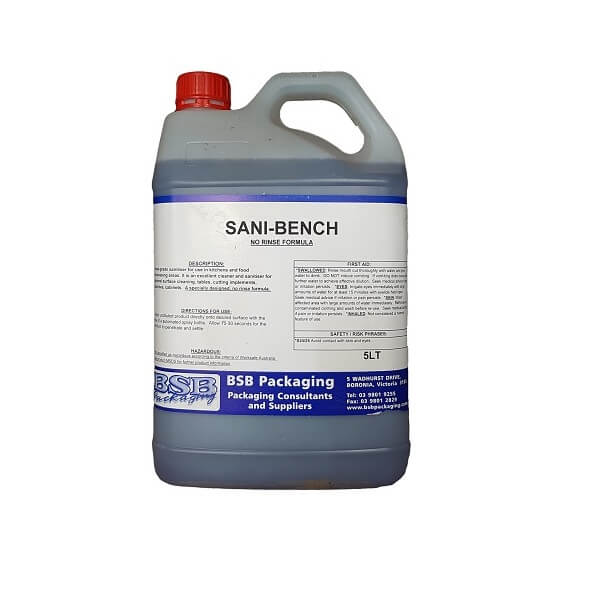 Sani-bench | BSB Packaging