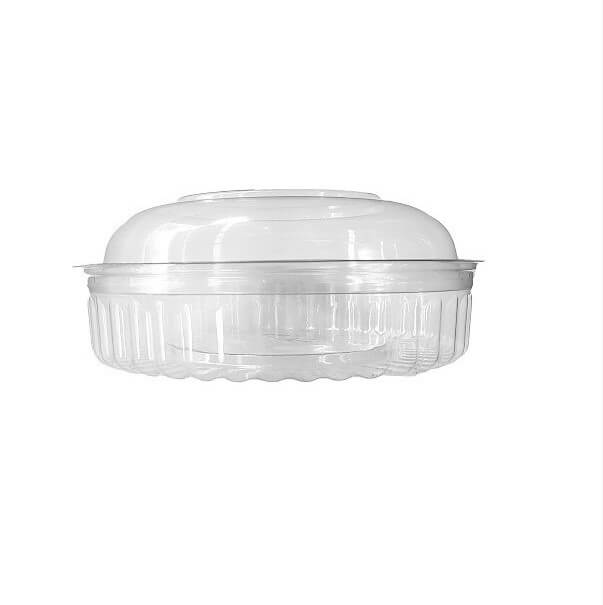 Shobowls Clear PET Dome Lid - 20-24oz