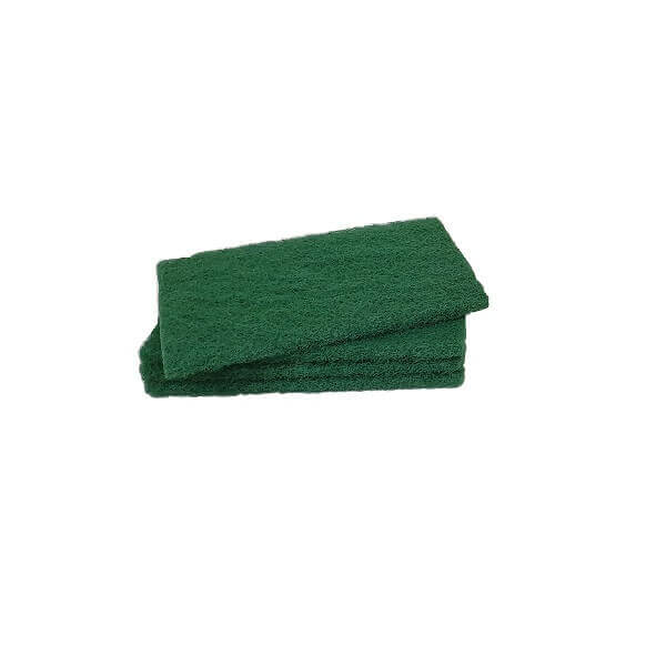 Green heavy duty scour pad - No. 100 | BSB Packaging