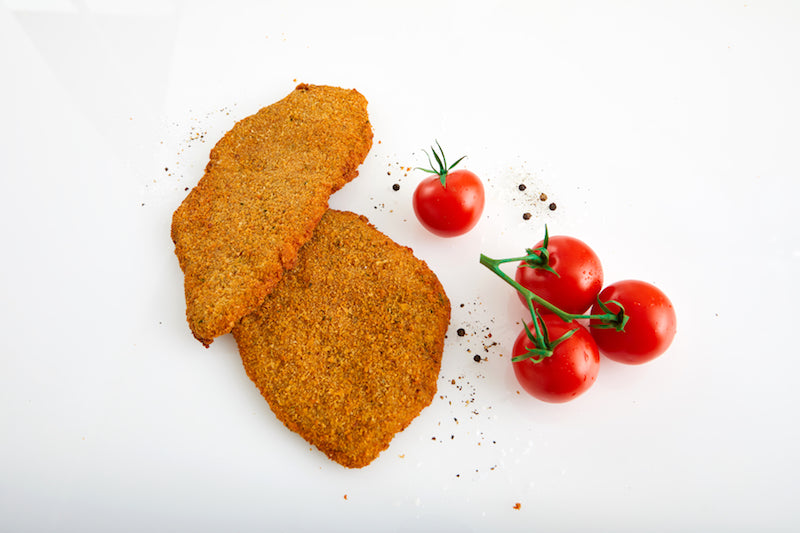Milanesa / Breaded Organic grass fed beef cutlet ( Eye Round/Peseto)