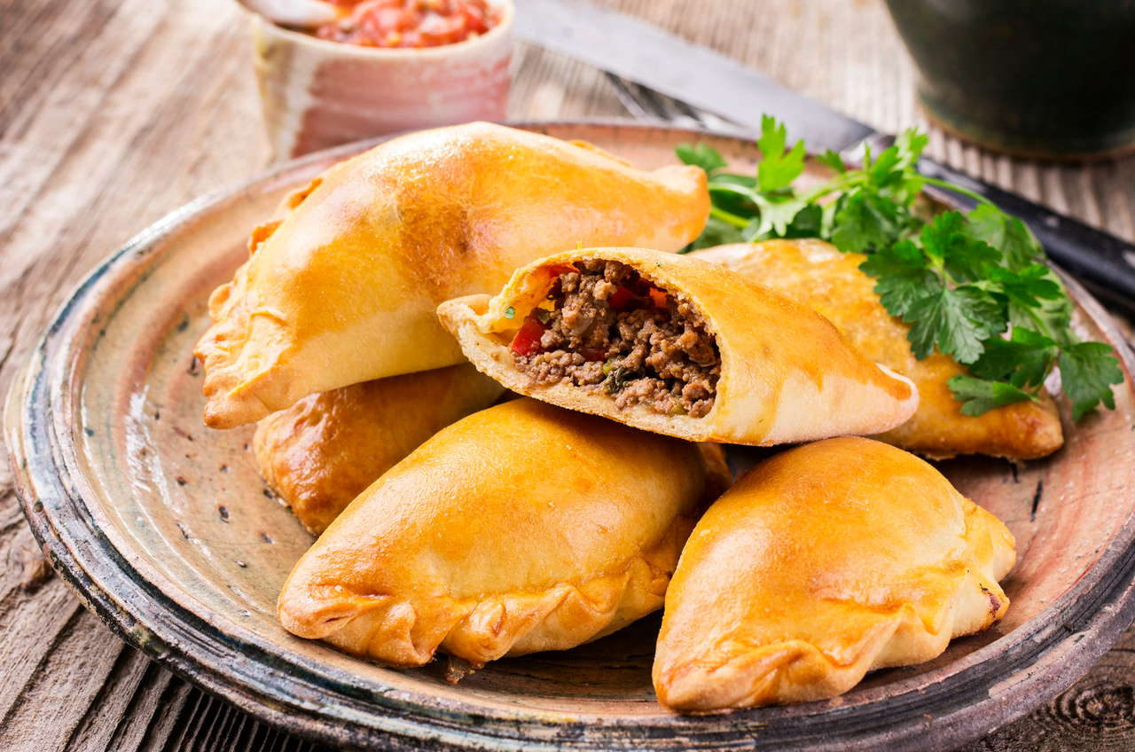 Empanadas (Organic Beef) (Family Pack of 12 for $27.00 ( $2.25 ea. )