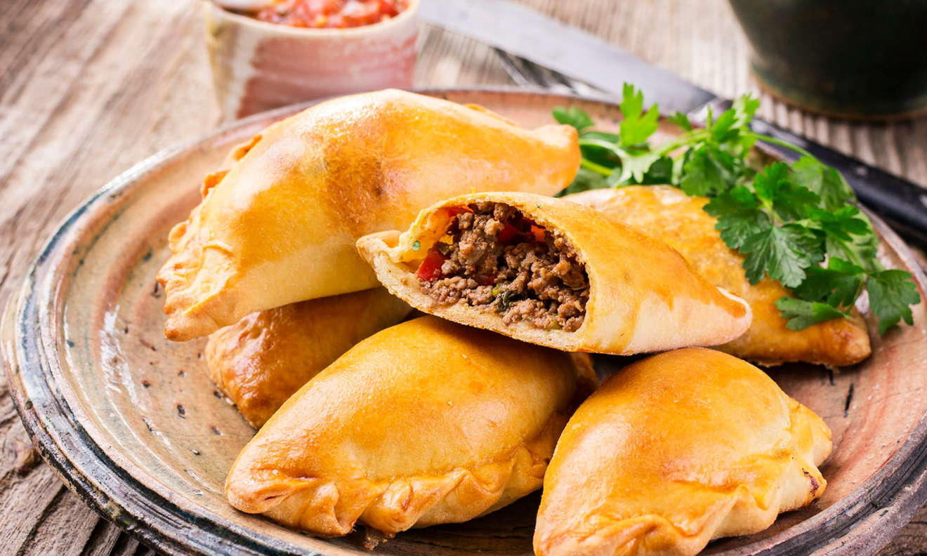 Empanadas (Organic Beef & Mushrooms) (Family Pack 12 ea. $27.00 ( $2.25ea.)