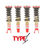 Function and Form 92-95 Civic / 93-97 Del Sol / 94-01 Integra Type 1 Coilovers