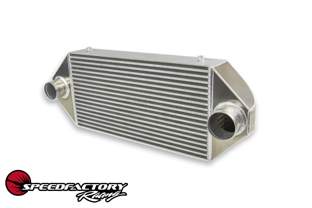 "SpeedFactory HPX Dual Backdoor Front Mount Intercooler - 3"" Inlet / 3.5"" Outlet (1000HP-1200HP)"