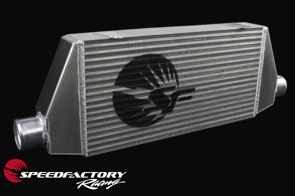 "SpeedFactory HP Front Mount Intercooler Upgrade for 1993-1998 MKIV Toyota Supra Turbo  - 3"" Inlet / 3"" Outlet (850HP-1000HP+)"