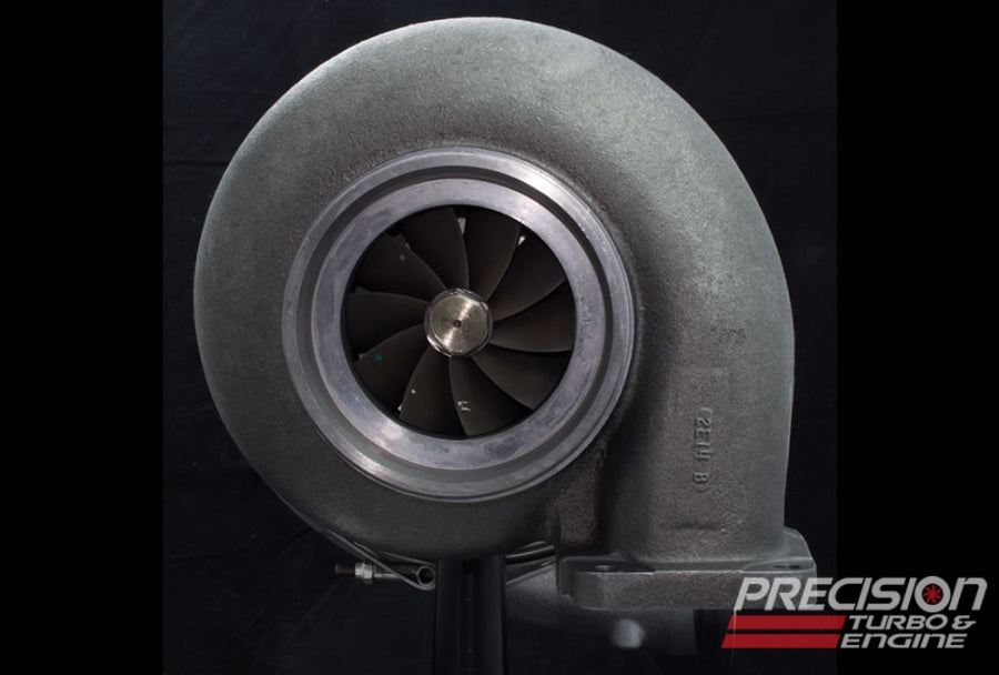 Precision Turbo Class Legal Turbocharger - 76mm for NMRA Renegade & NMCA Xtreme Street