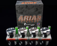 Load image into Gallery viewer, Arias Pistons for Acura/Honda B18C1 1.8L DOHC VTEC 94-01 Integra GSR