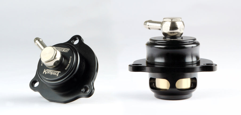 TurboSmart Kompact Plumb Back Shortie Blow Off Valve (BOV) for 2015+ 2.3L EcoBoost Mustang