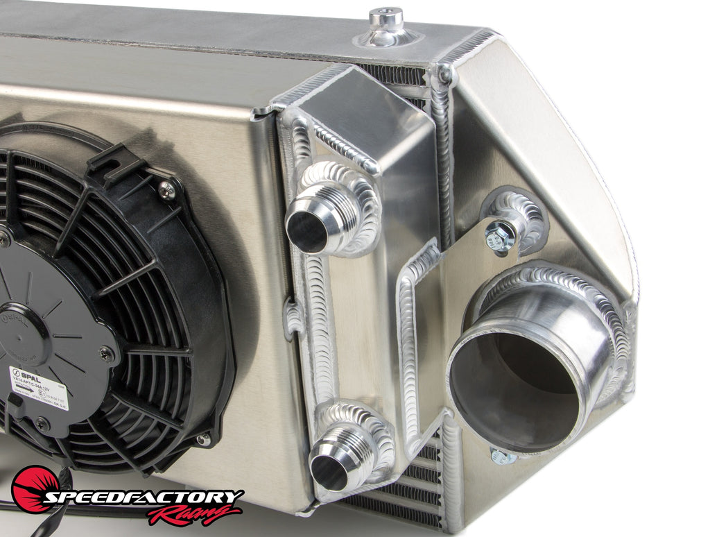 SpeedFactory Racing Dual Backdoor Intercooler | Tucked Radiator Combo
