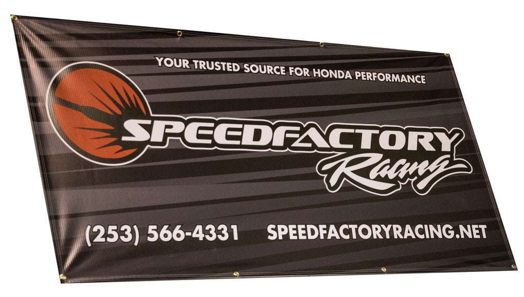 SpeedFactory Racing Shop Banner