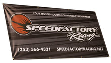 Load image into Gallery viewer, SpeedFactory Racing Shop Banner