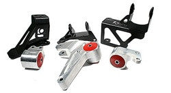 Innovative 92-95 Civic, 94-01 Integra Billet Conversion Mount Kit for K Series Engines 60A Red