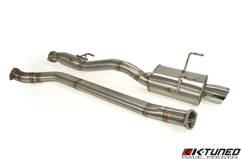 "K-Tuned EP3 3"" Oval Tube Cat-Back Exhaust"