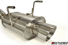 "Load image into Gallery viewer, K-Tuned EP3 3"" Oval Tube Cat-Back Exhaust"