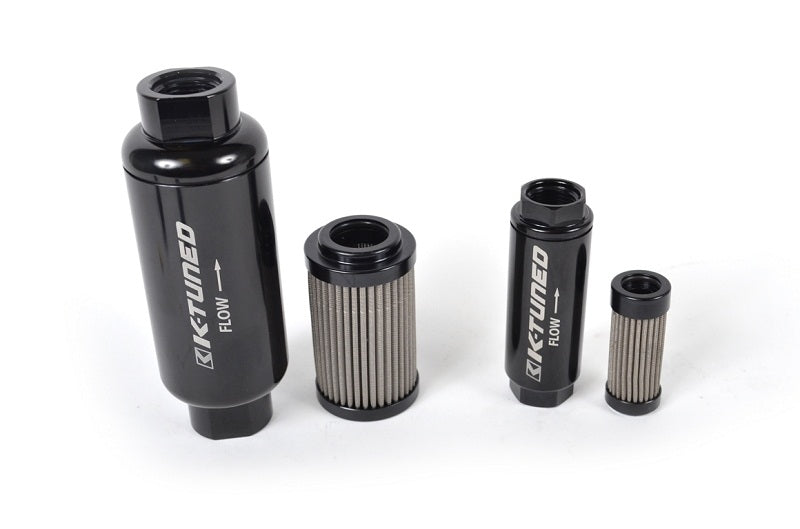 K-Tuned High-Flow Fuel Filter (10AN Inlet/Outlet)