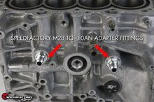 Load image into Gallery viewer, SpeedFactory Racing Billet M28 to -10AN Adapter Fitting