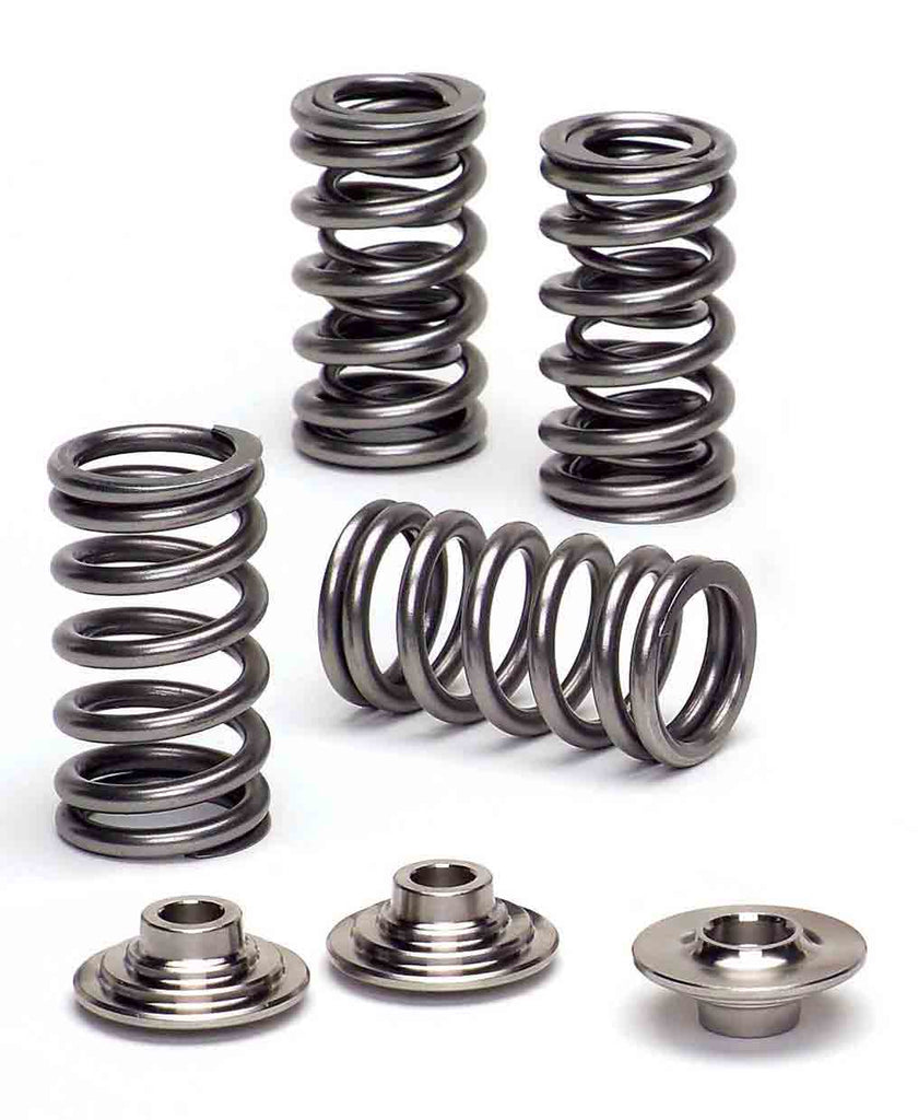 Supertech 93lb Dual Valve Springs and Titanium Retainers for H22, H22a, H22a2, H22a4