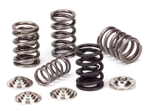 Supertech Single Valve Springs, Titanium Retainers and Seats for LS B18a B18b B20b B20z
