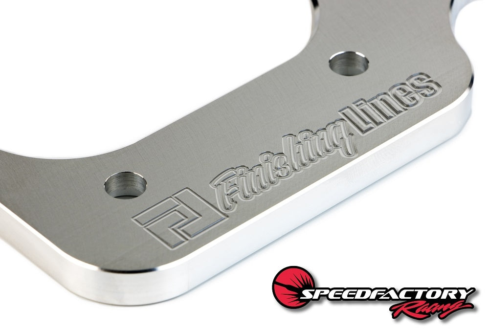 Finishing Lines Billet B/D-Series Staging Brake Mounting Plate