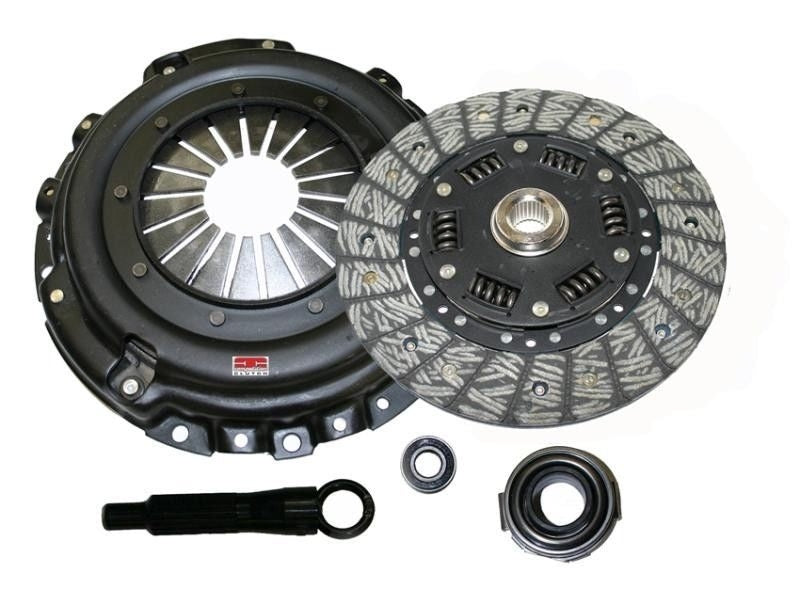 Competition Clutch (8017-1500) -  Stage 1.5 - Full Face Organic Clutch Kit - B-Series Cable