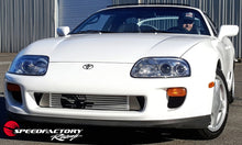 "Load image into Gallery viewer, SpeedFactory HP Front Mount Intercooler Upgrade for 1993-1998 MKIV Toyota Supra Turbo  - 3"" Inlet / 3"" Outlet (850HP-1000HP+)"