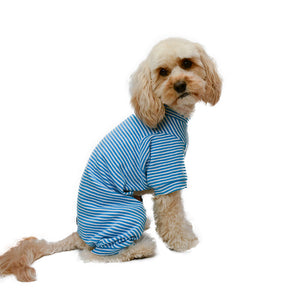 Handmade for Hounds Beaumaris dog onesie side view