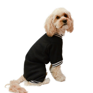 Handmade for Hounds Malvern dog onesie side view