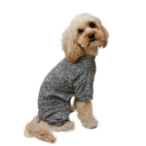 Handmade for Hounds Prahran dog onesie side view