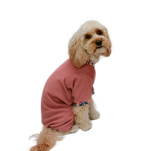 Handmade for Hounds Camberwell dog onesie side view