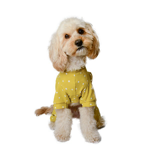 Handmade for Hounds Armadale dog onesie front view