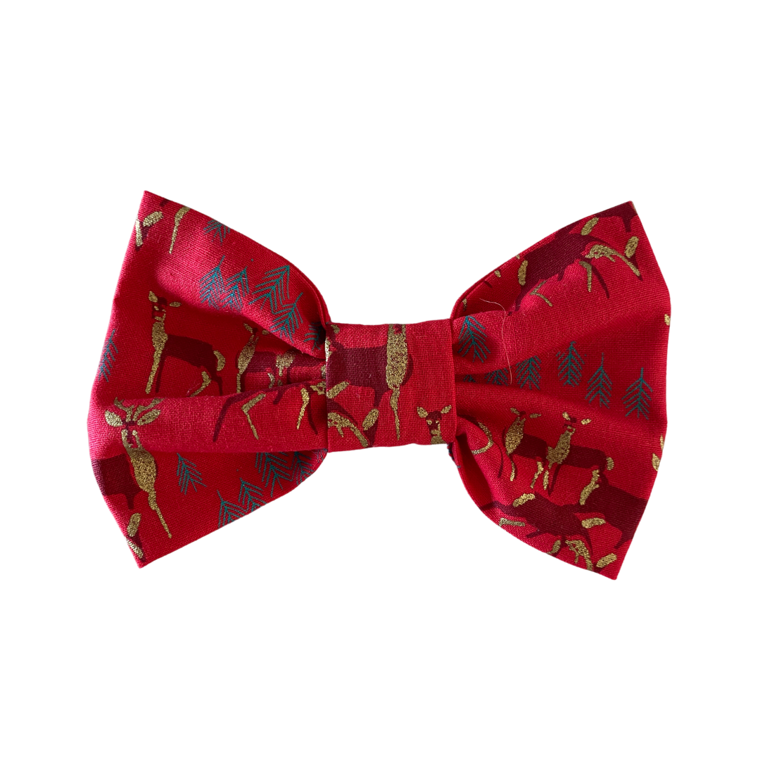 The Christmas Reindeer Bow