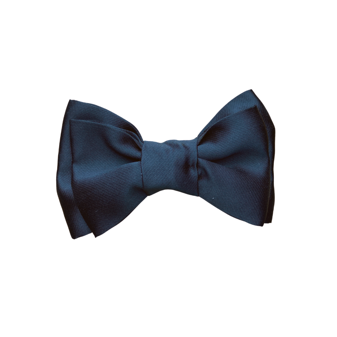 The Fancy Double Bow- Black