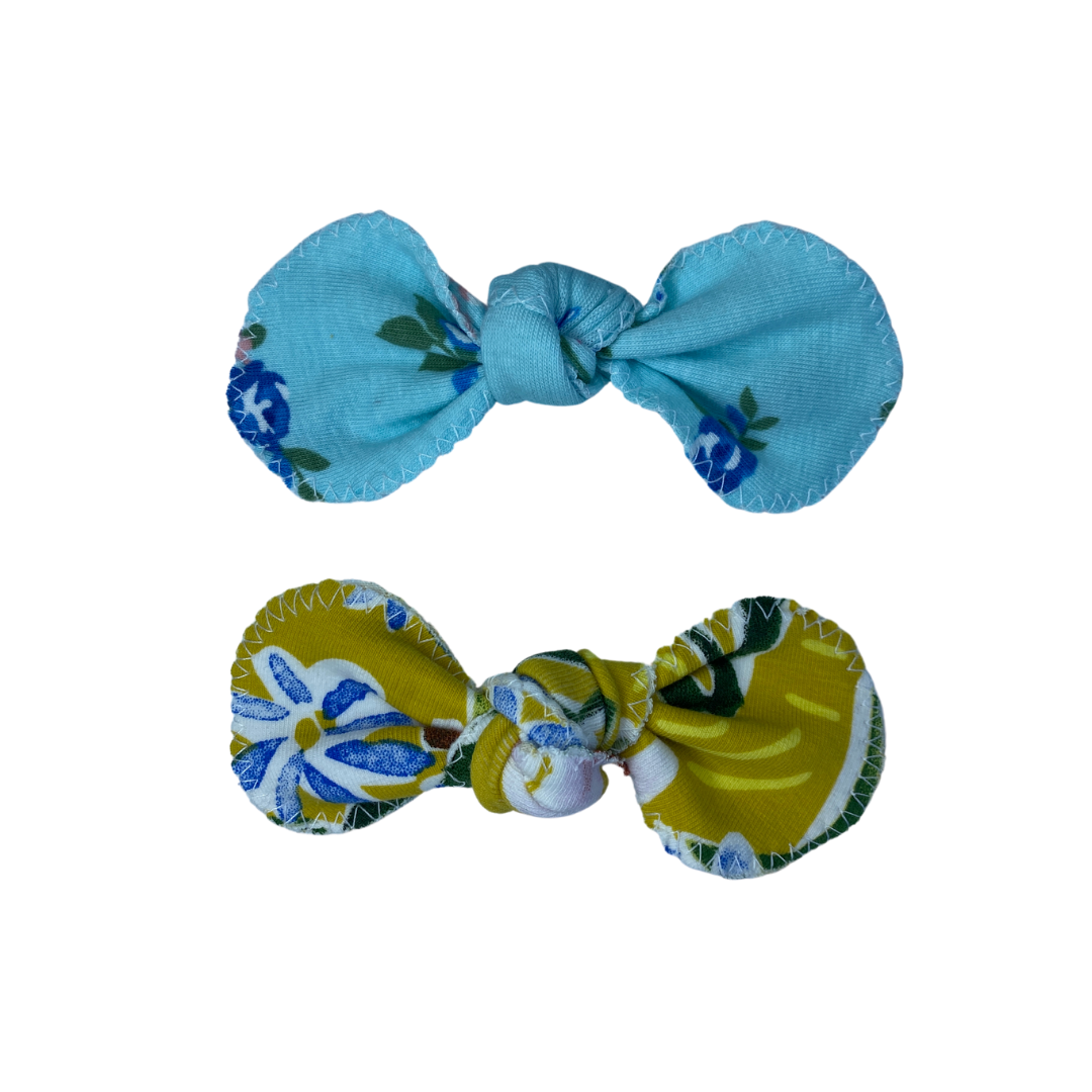Hair Bow - The Edithvale & Chelsea. (Twin Pack)