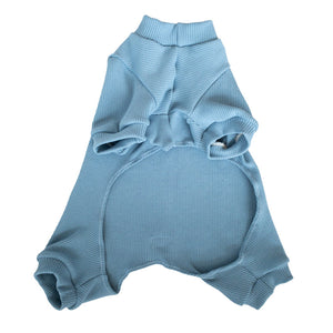 Handmade for Hounds Bayswater dog onesie flat bottom view