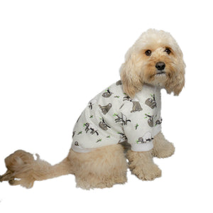 Handmade for Hounds Maidstone dog onesie side view