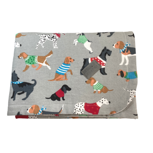 The Winter Dogs Blanket