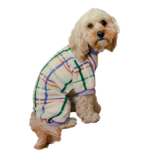 Handmade for Hounds Mount Martha dog onesie side view