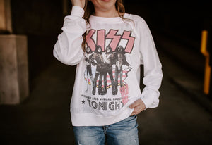 KISS Sold Out Tour Long Sleeve Sweater