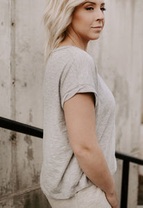 Ryan Raw Edge Knit Top