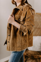 Load image into Gallery viewer, Kenny Corduroy Jacket - Camel