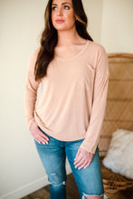 Load image into Gallery viewer, Follow Me Jersey Knit Long Sleeve Top