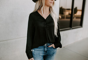 Lorna Round Collar Blouse Top