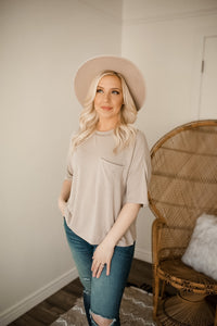 Refresh Pocketed Loose Fitting Top