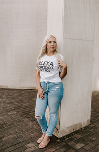 Alexa Short Sleeve Graphic Tee
