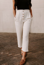 Load image into Gallery viewer, Harley High Waisted Linen Blend Pants